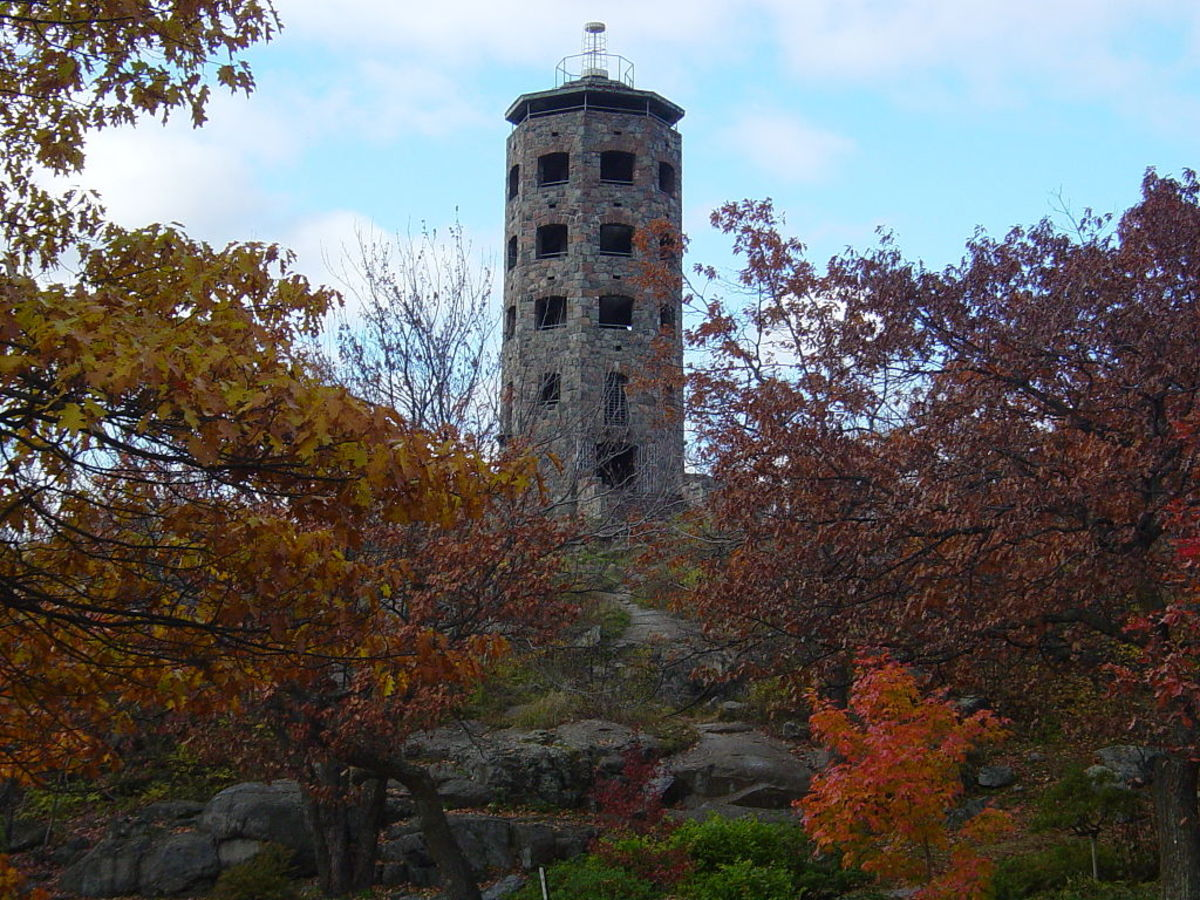 Enger Tower and Park in Duluth, Minnesota