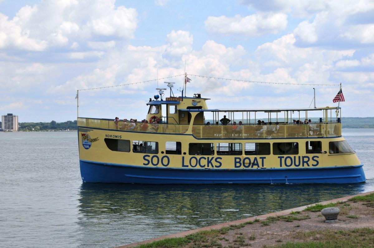Soo Locks Boat Tour - Sault Ste. Marie, Michigan