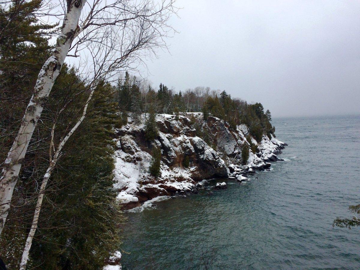 Winter @ Presque Isle Park in Marquette, Michigan