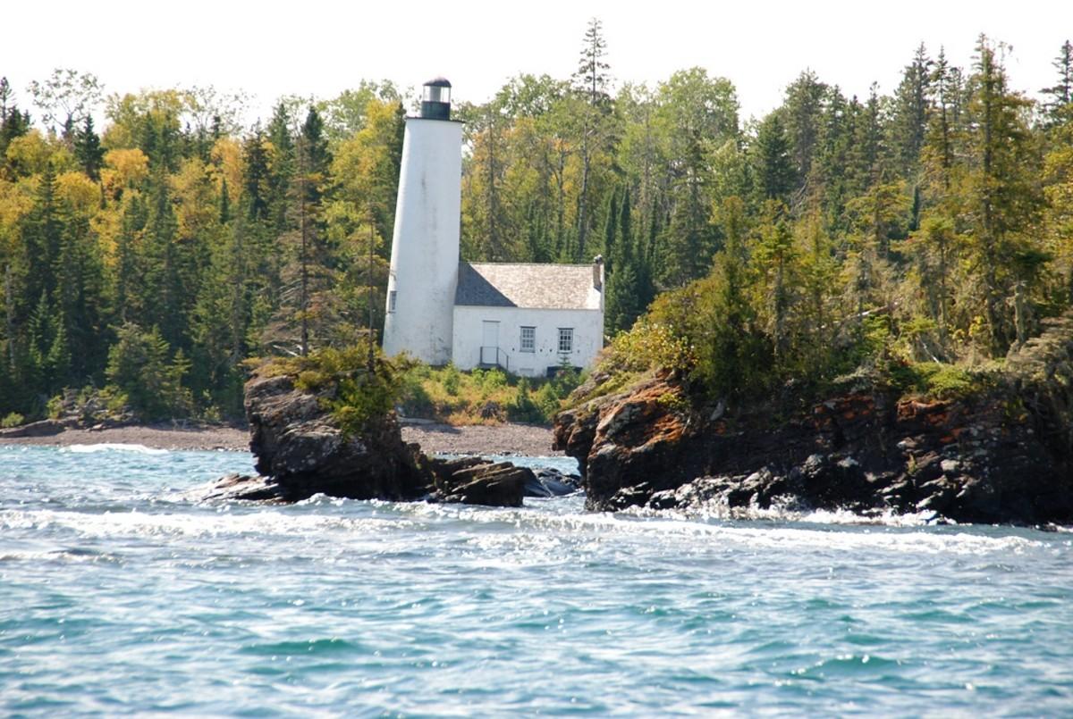Rock Harbor Lighthouse @ Isle Royale National Park, Michigan
