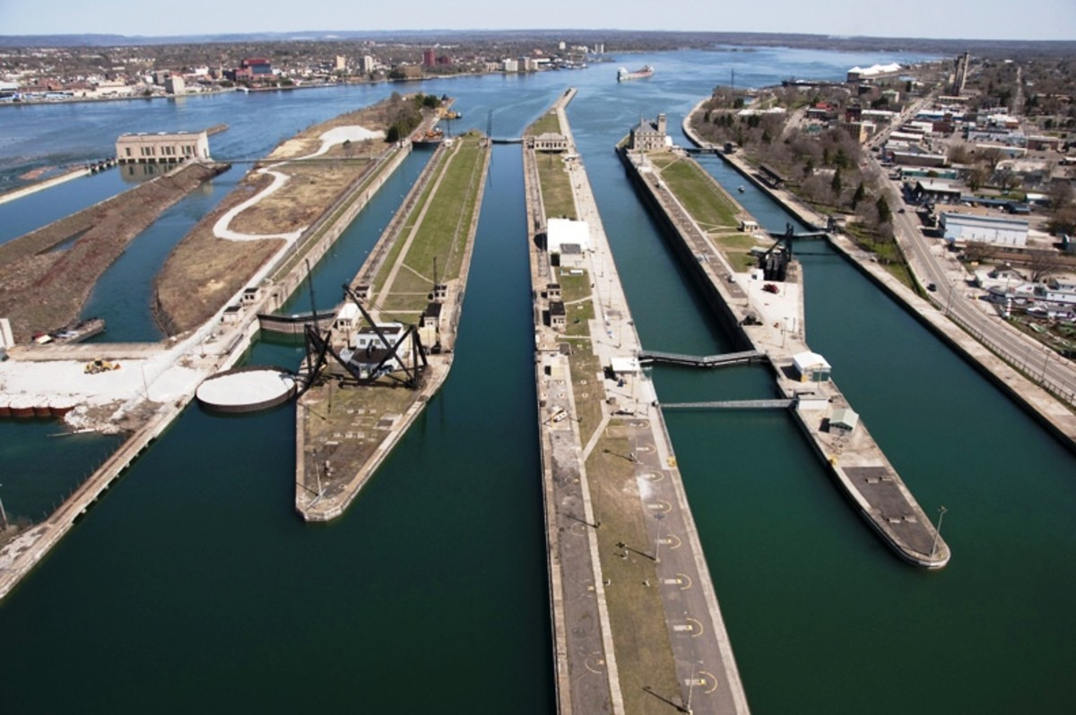 Soo Locks - Sault Ste. Marie, Michigan