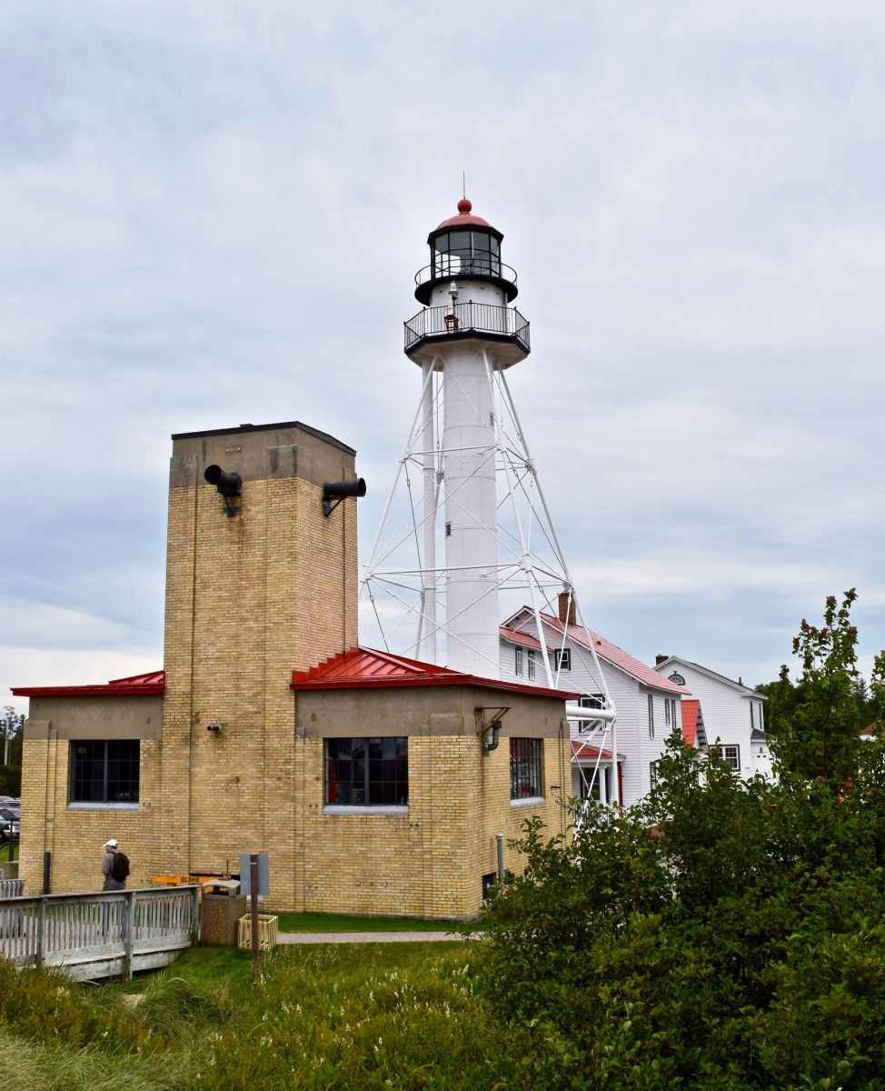 "All ships that enter and leave Lake Superior must pass the Whitefish Point Light.  It is also known as the ""Graveyard of the Great Lakes.""  It is also home to the Great Lakes Shipwreck Museum."