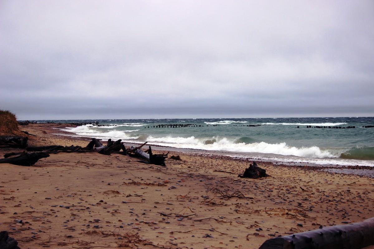 Whitefish Point on Lake Superior