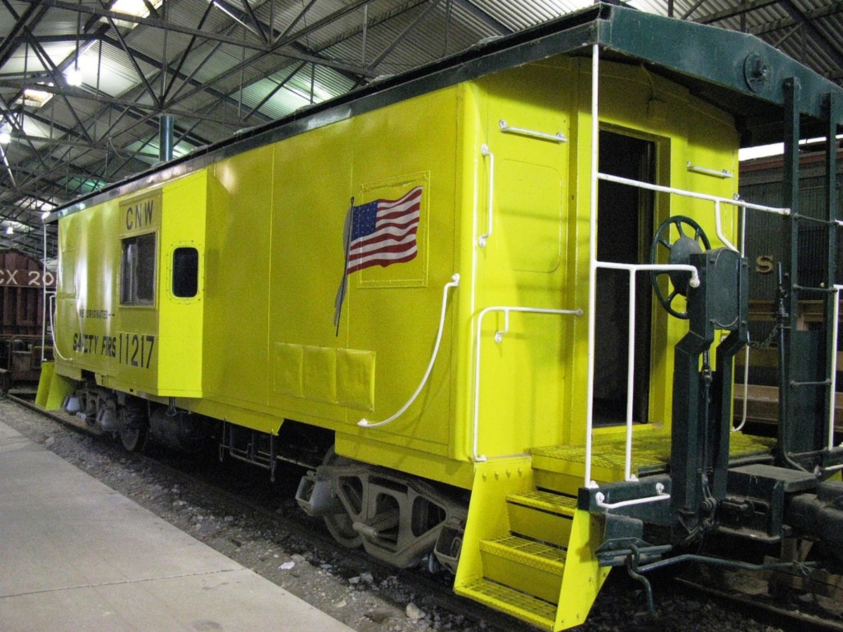 ational Railroad Museum in Green Bay, Wisconsin
