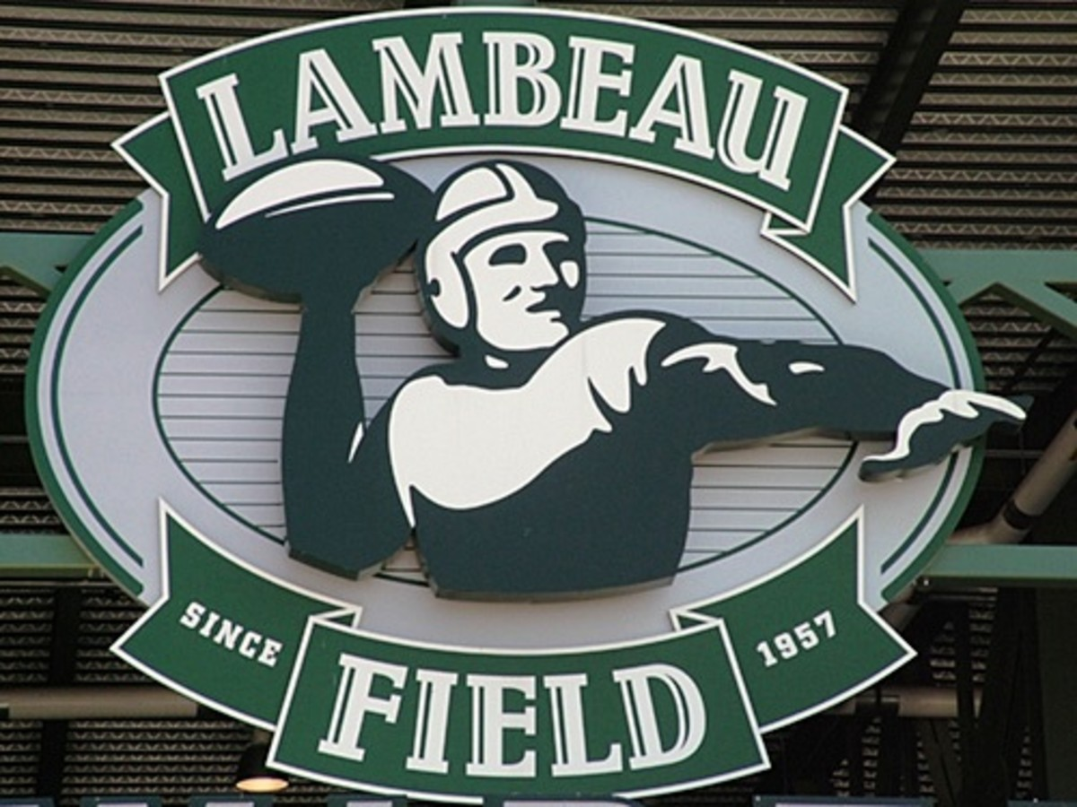 Lambeau Field sign - Green Bay, Wisconsin