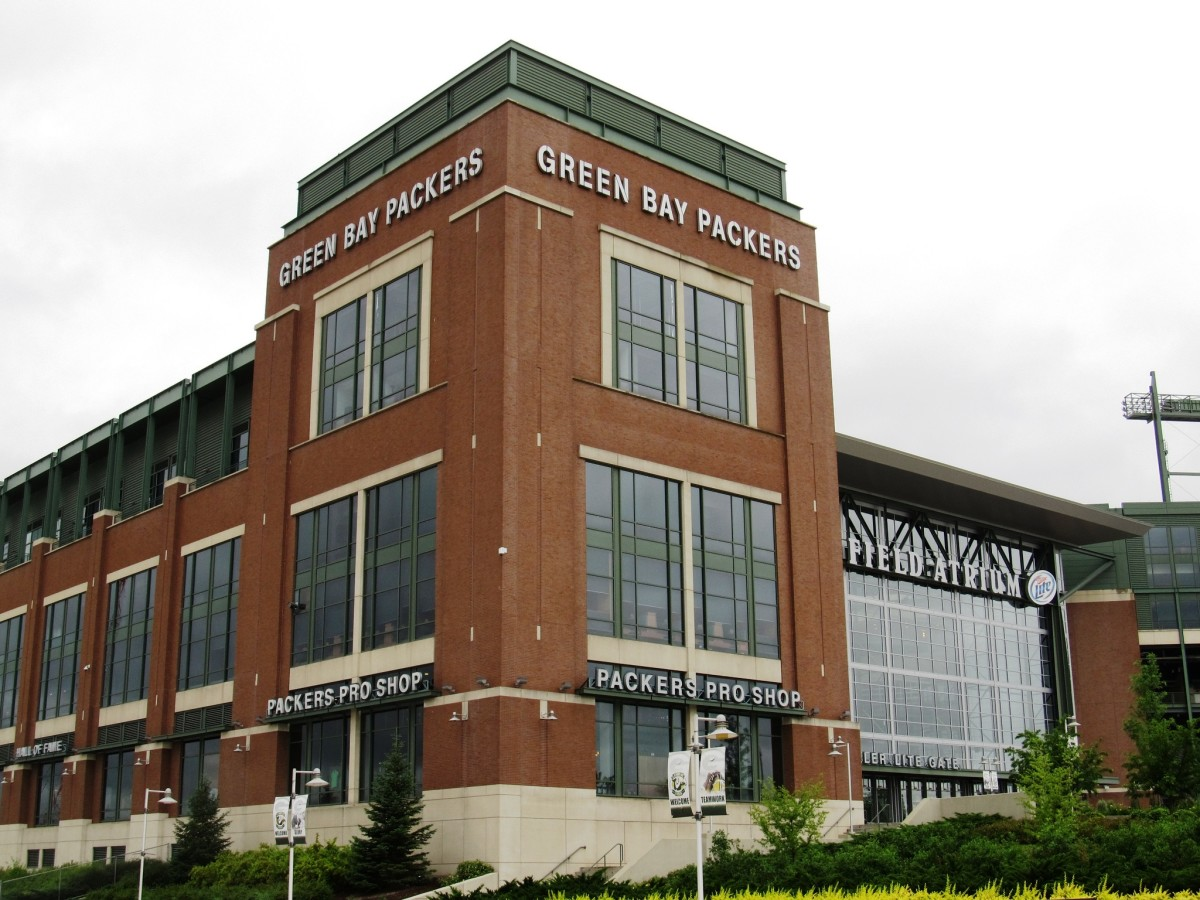 Lambeau Field in Green Bay, Wisconsin