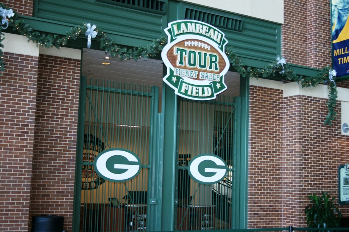 Lambeau Field Tours - Green Bay, Wisconsin