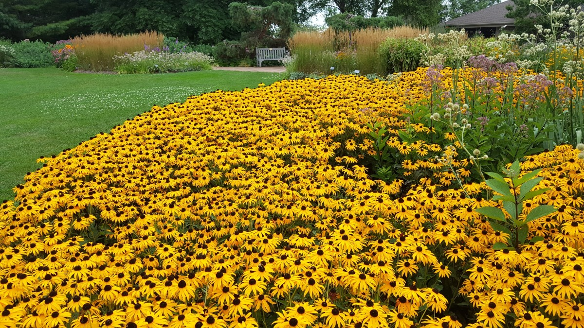 Green Bay Botanical Gardens in Green Bay, Wisconsin