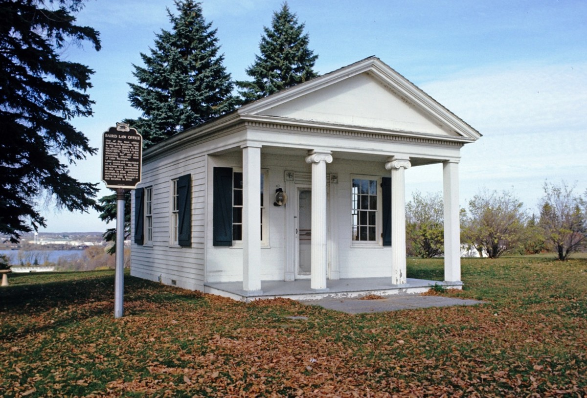 Baird Law Office @ Heritage Hill State Historic Park, Green Bay, Wisconsin