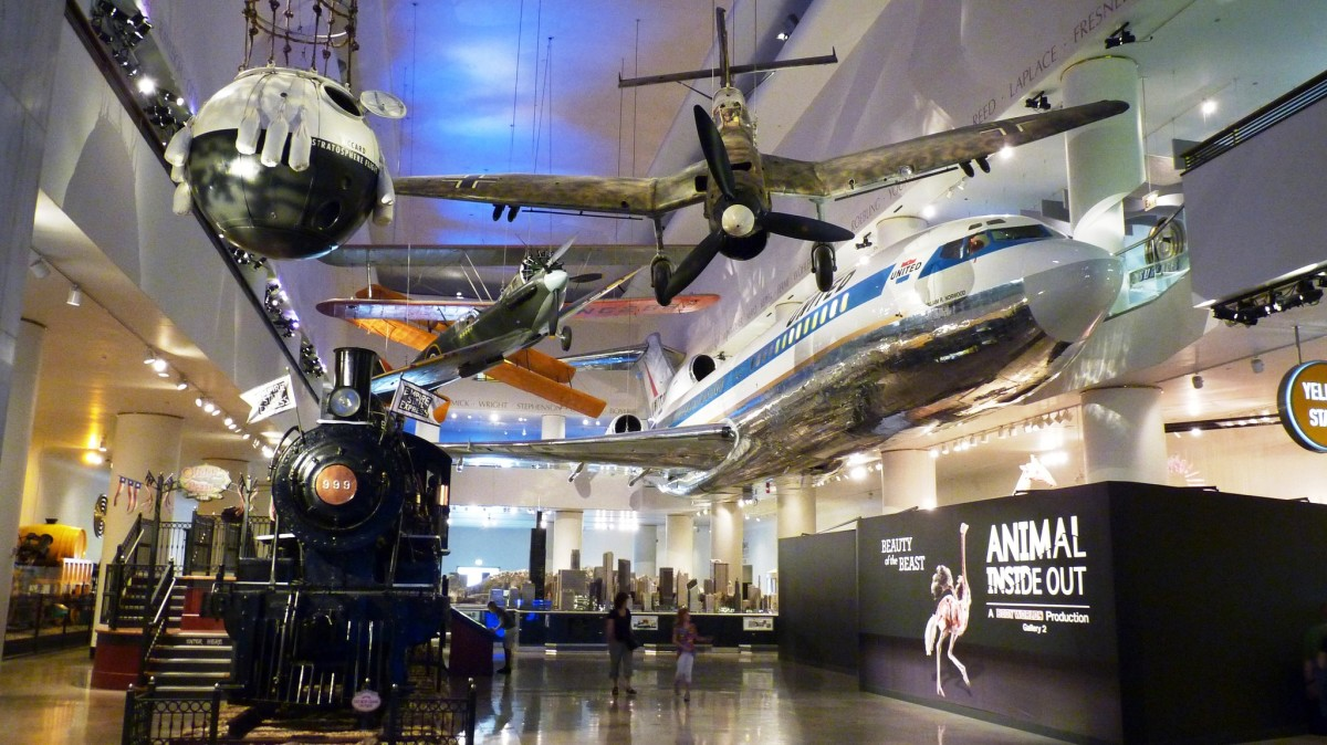 Museum of Science and Industry in Chicago, Illinois