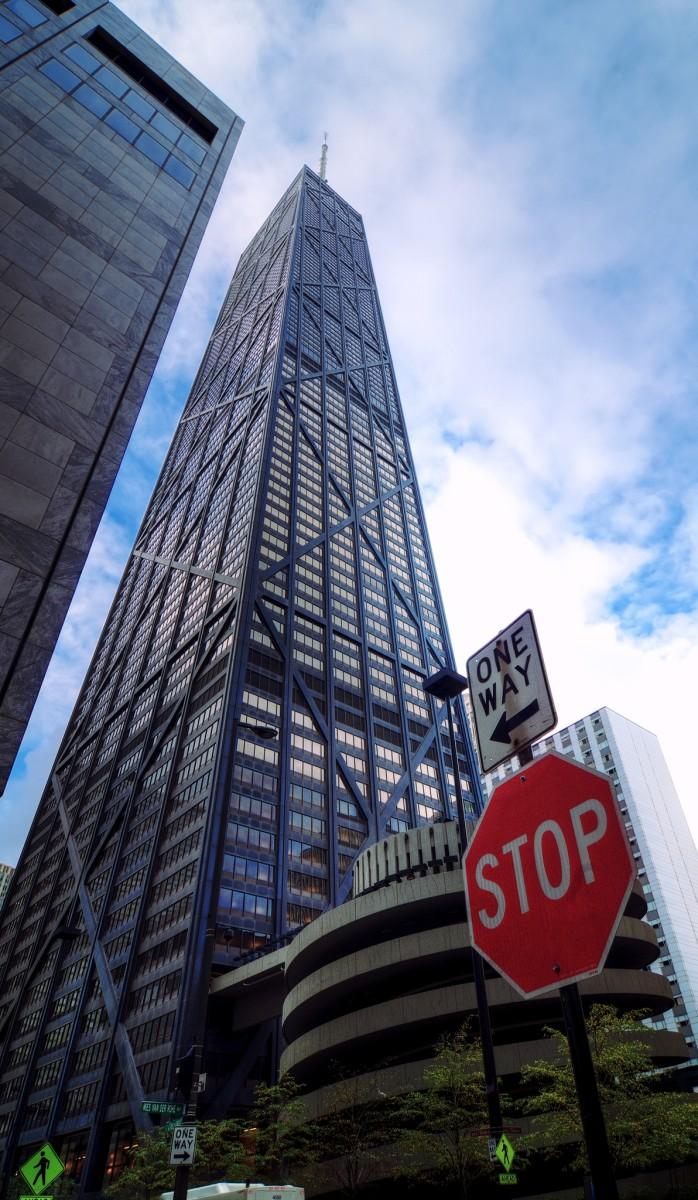 John Hancock Center in Chicago, Illinois