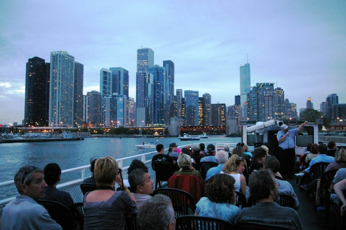 Chicago Architectural River Cruise in Chicago, Illinois