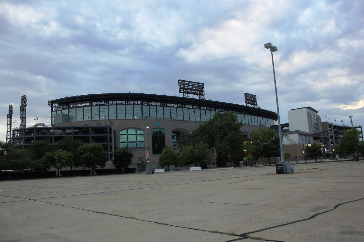 Guaranteed Rate Field, the home of the Chicago White Sox - Chicago, Illinois