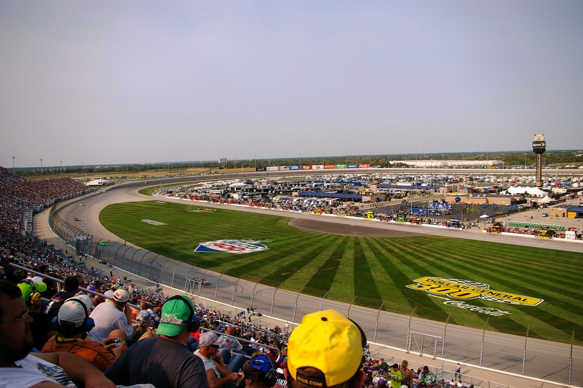 Nascar at Chicagoland Speedway in Joliet, Illinois