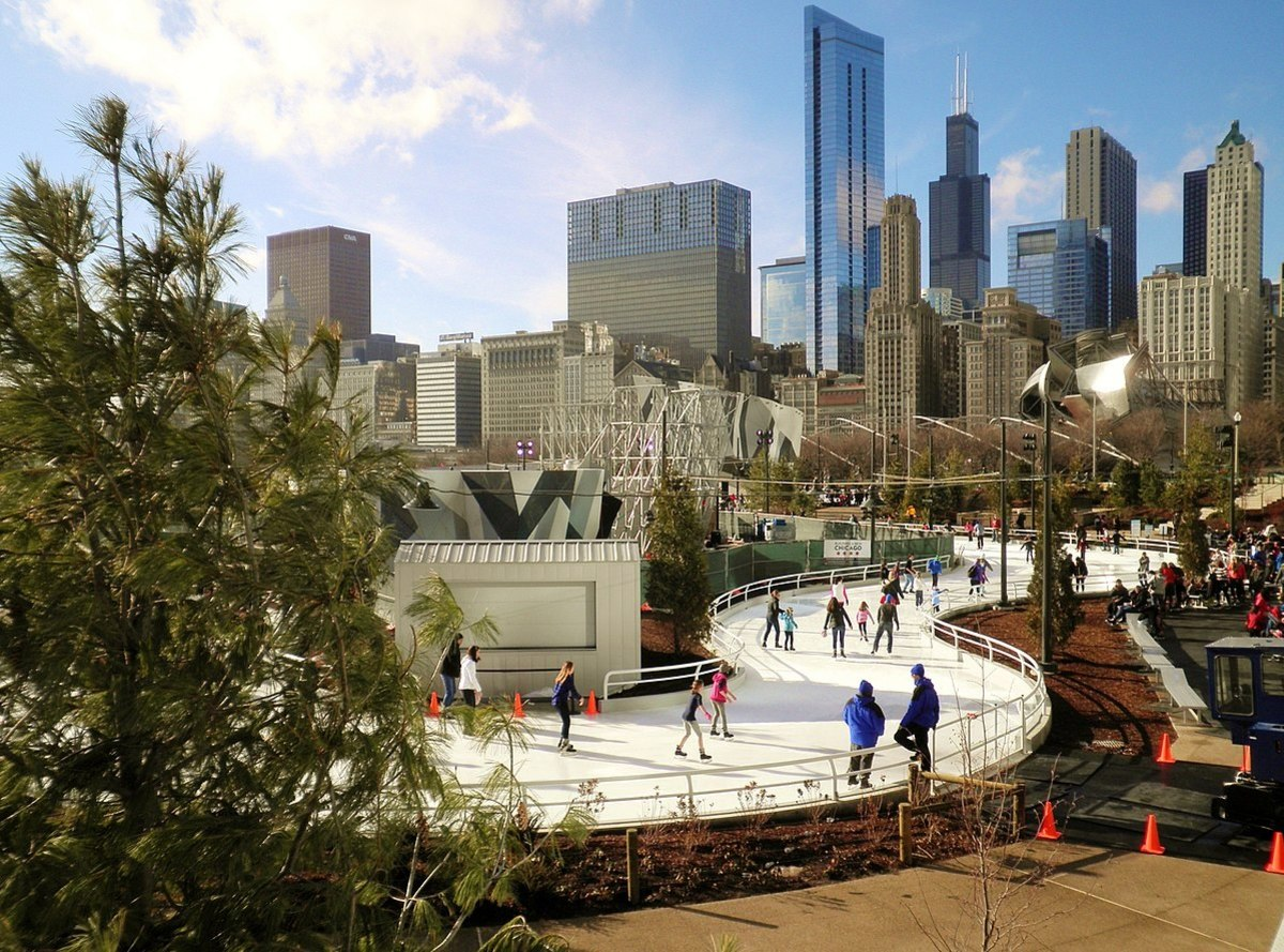 Maggie Daley Park is a re-landscaped section on northern Grant Park in Chicago, Illinois.
