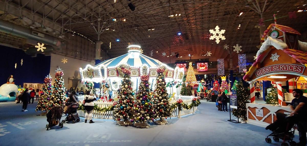 Winter Wonderfest at Navy Pier in Chicago, Illinois