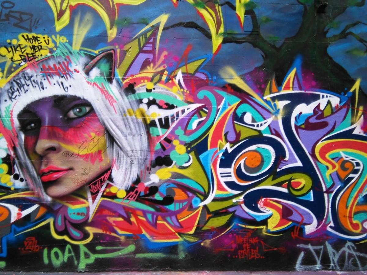 Street art, Melbourne (c) A. Harrison