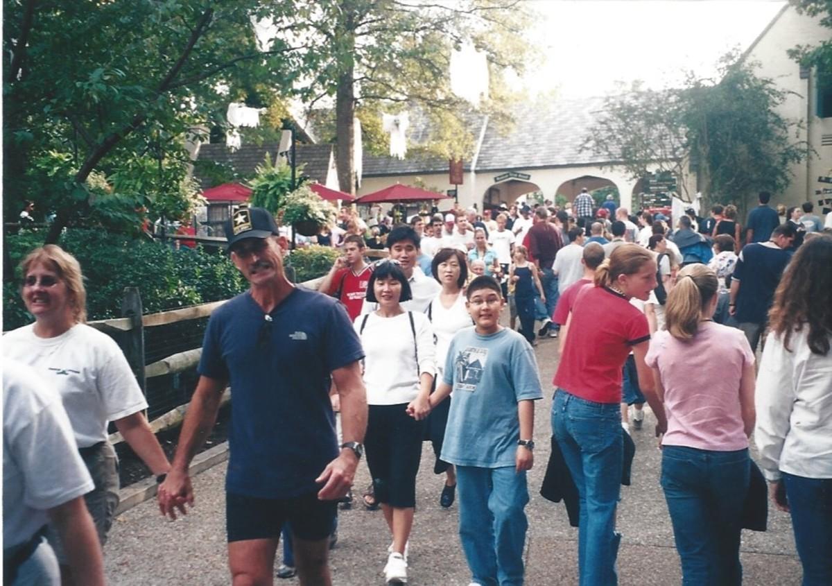 Busch Gardens circa 2000.