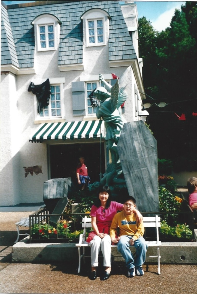 """France"" at Busch Gardens circa 2000."