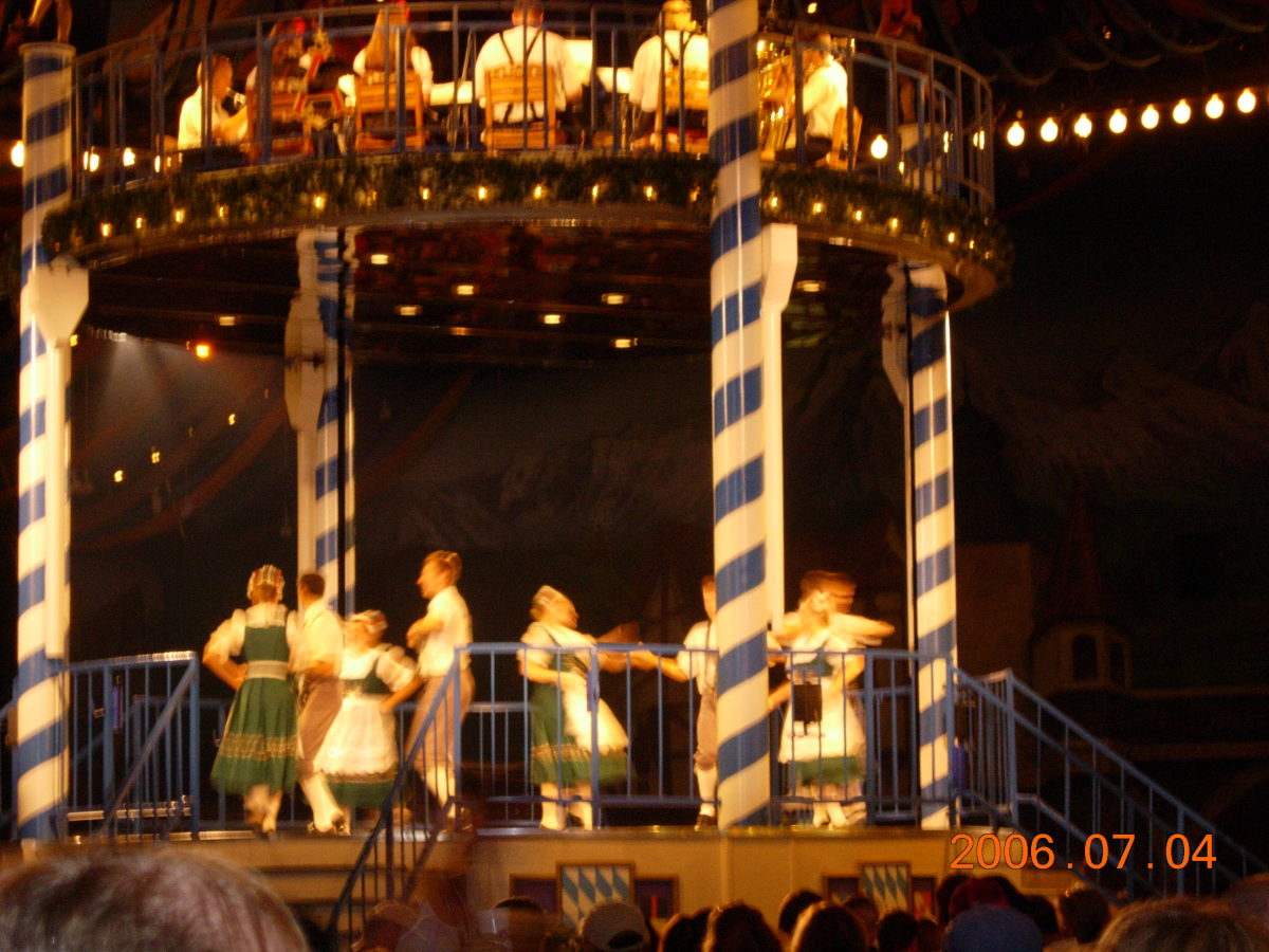 A show inside the Festhaus, 2006.