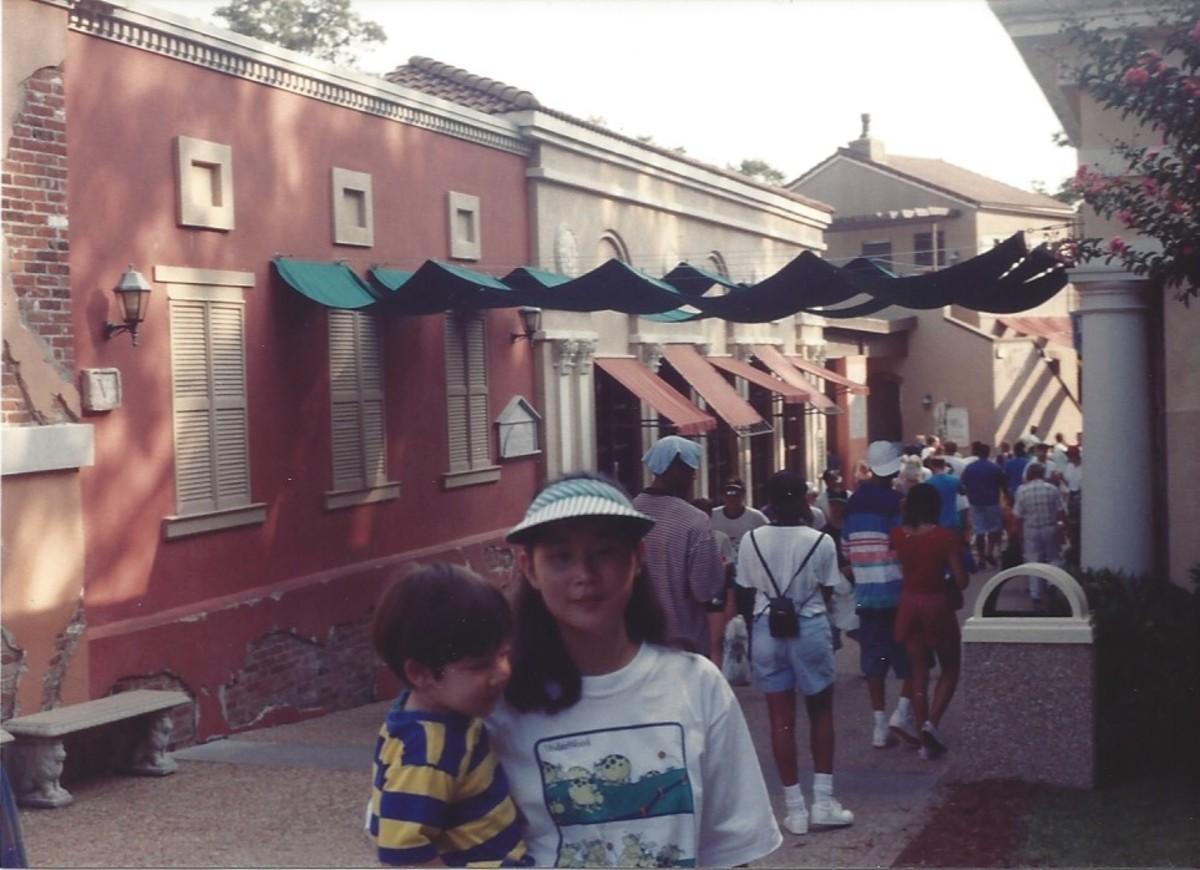 """""""Italy"""", Busch Gardens style, 1994."""
