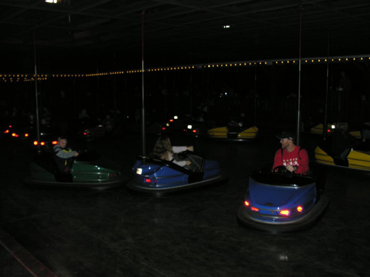 Bumper cars, December 2013.