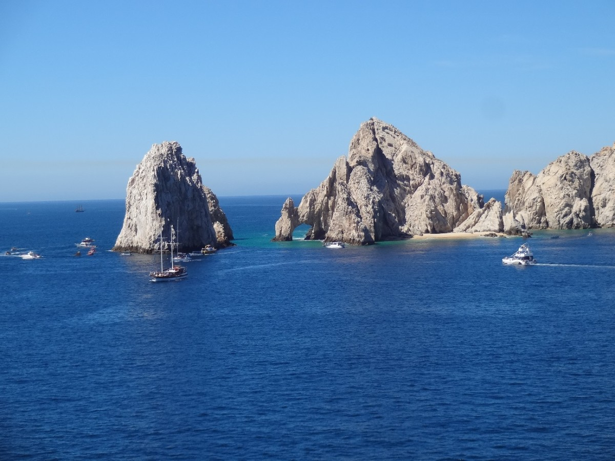 A favorite photo shot of The Arch at Cabo San Lucas