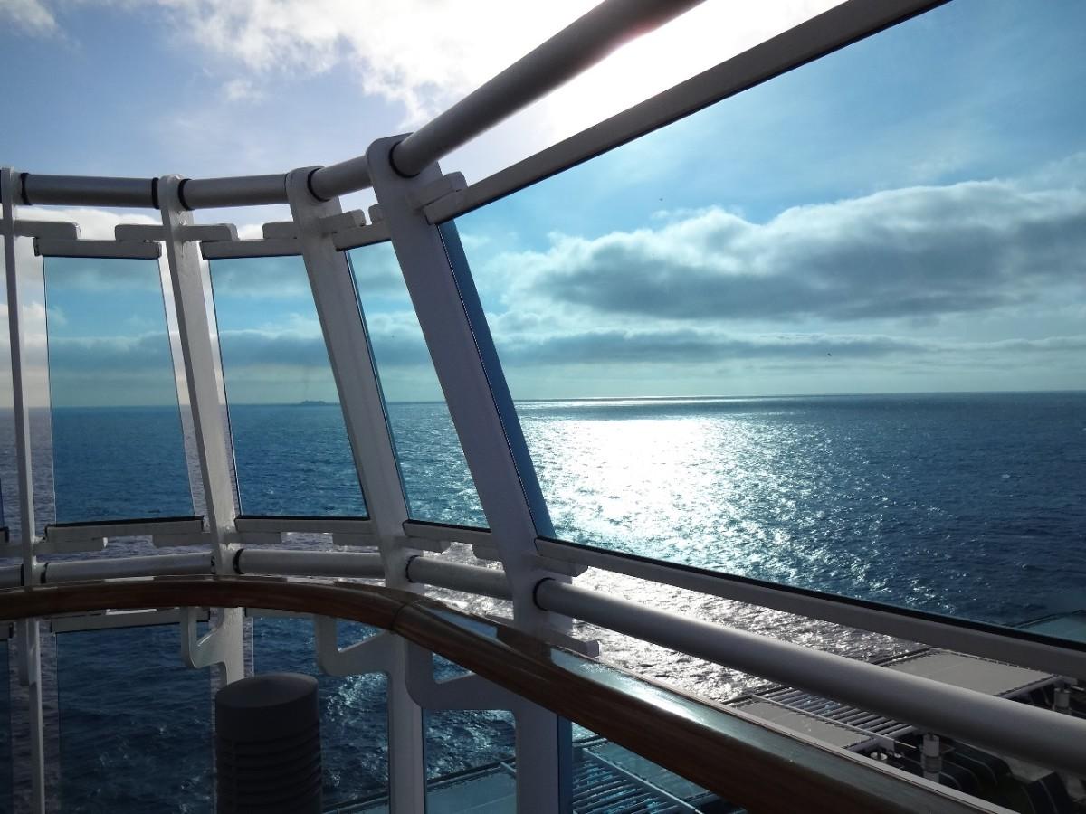 Sea day aboard the Royal Princess