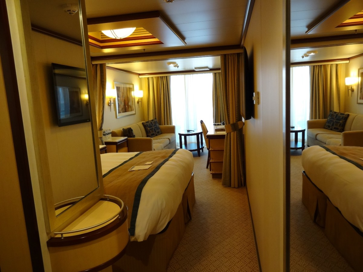 Cruise Mini Suite With a Balcony