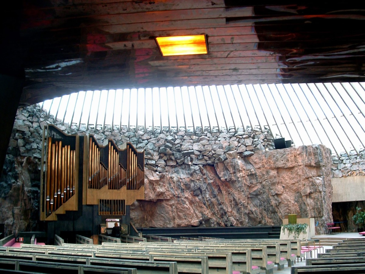 The Rock Church (Temppeliaukio)