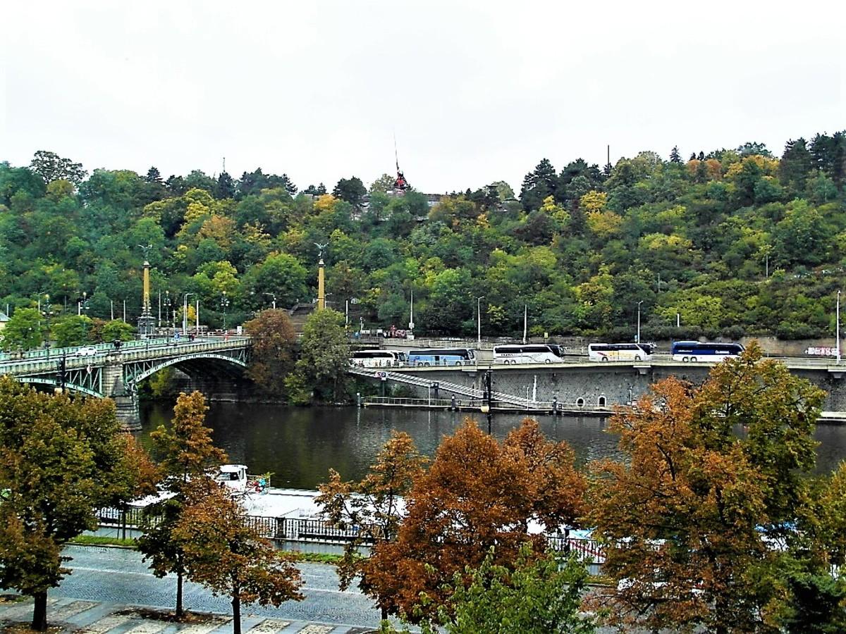River Vltava.