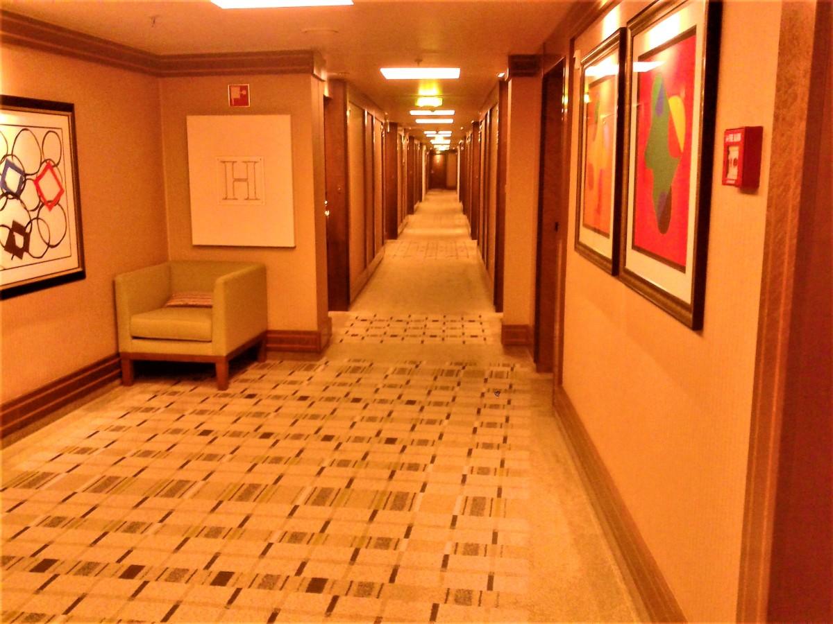 InterContinental corridor.