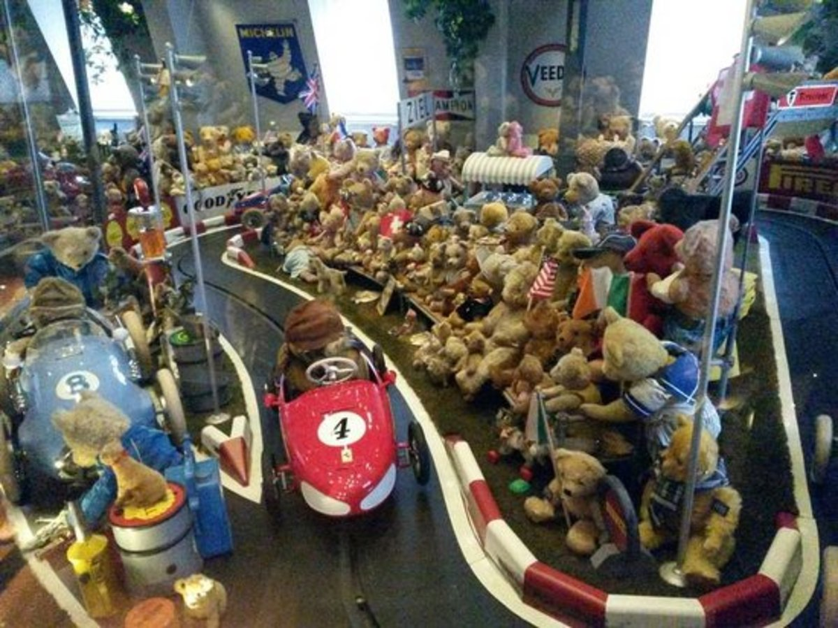 A Glimpse Into the Spielzeug or Toy Museum