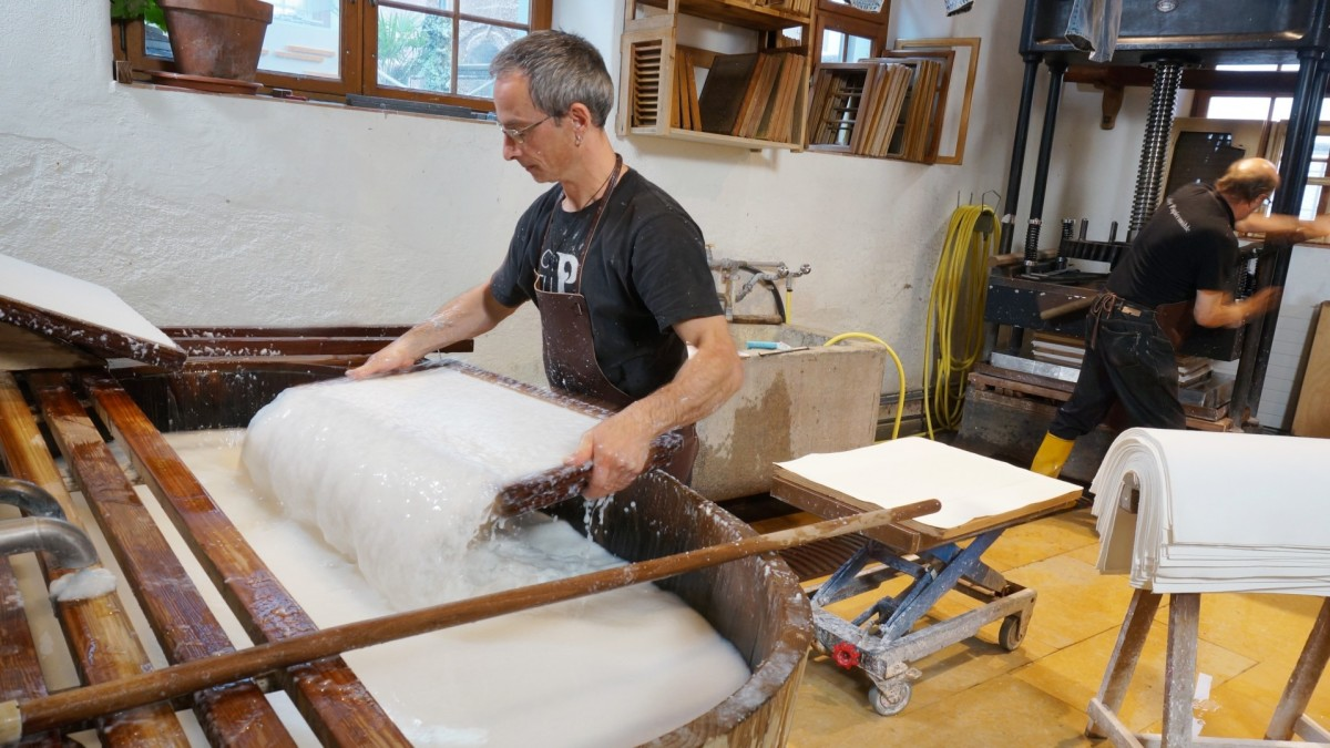 A Look at How Paper Is Traditionally Made