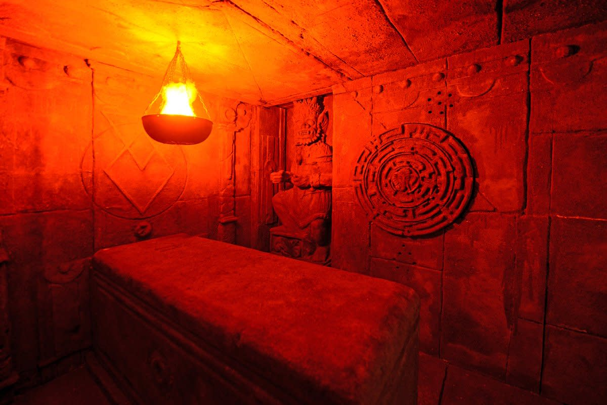 """Curse of the Yamma"" Escape Room"