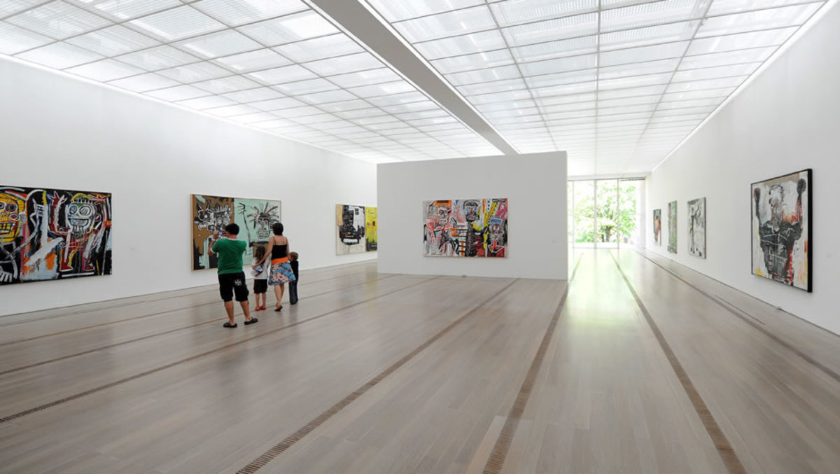 A Room in the Fondation Beyeler Museum