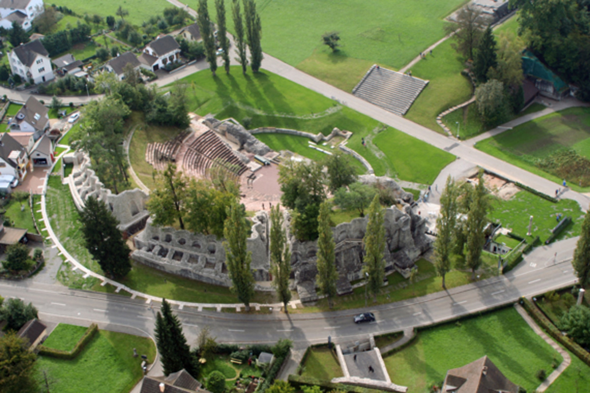 The Coliseum of Augusta Raurica