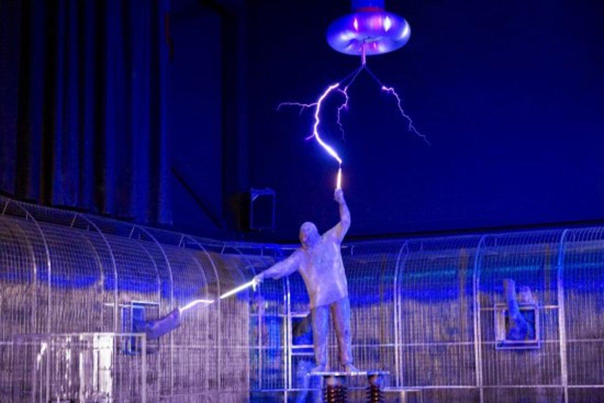 The Lightning Show at Technorama