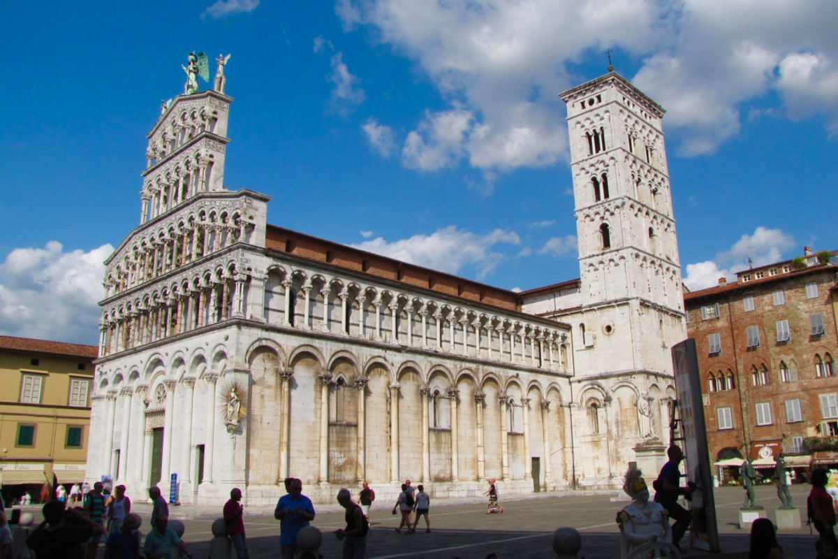Church of San Michele in Foro, Lucca.