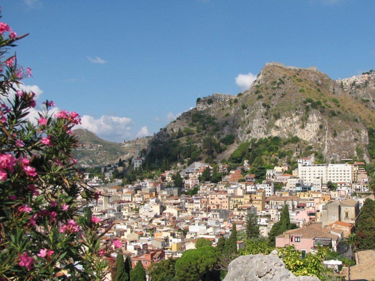 Beautiful Taormina in Sicily