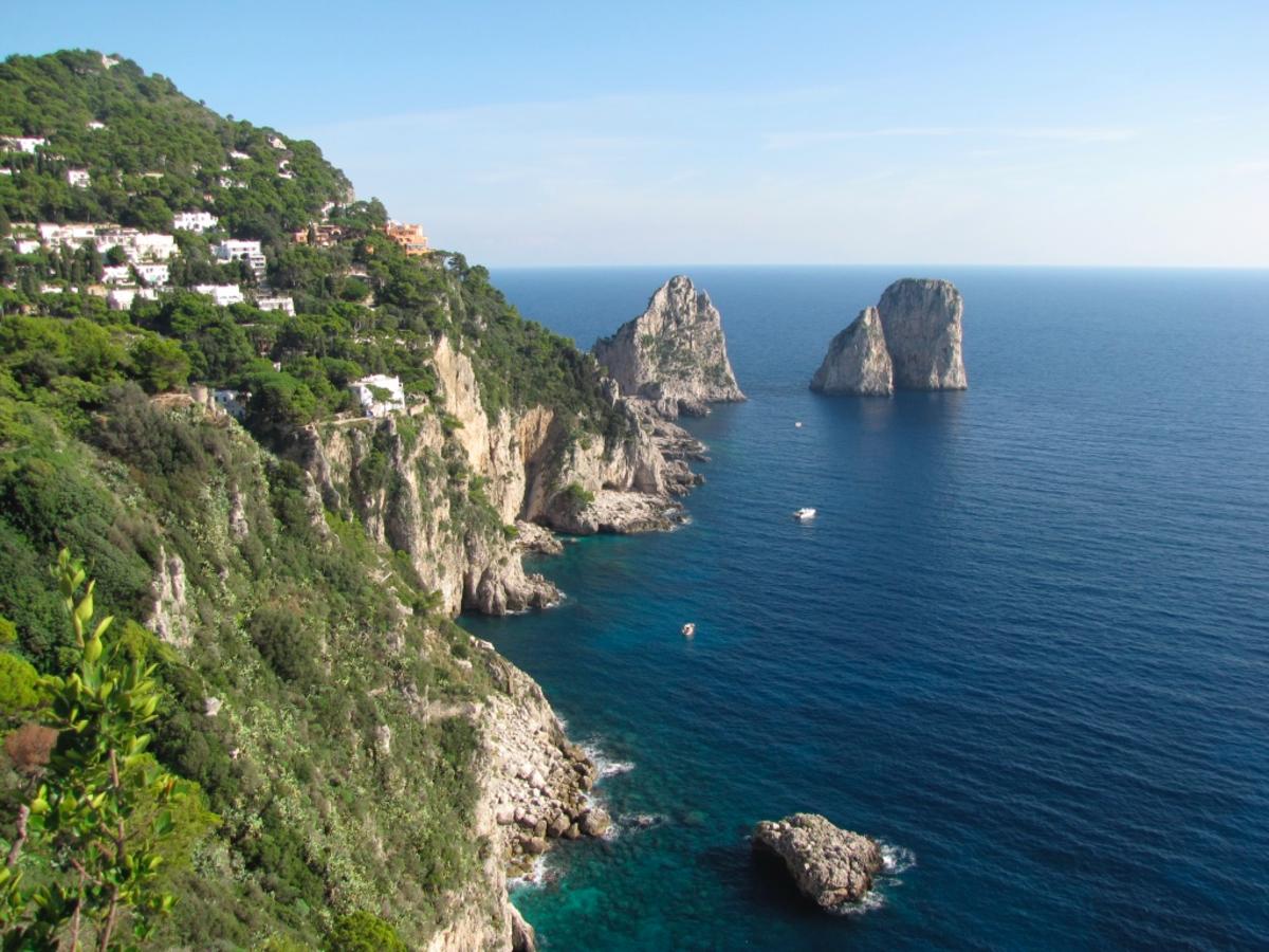 The Stunning Faraglioni of Capri