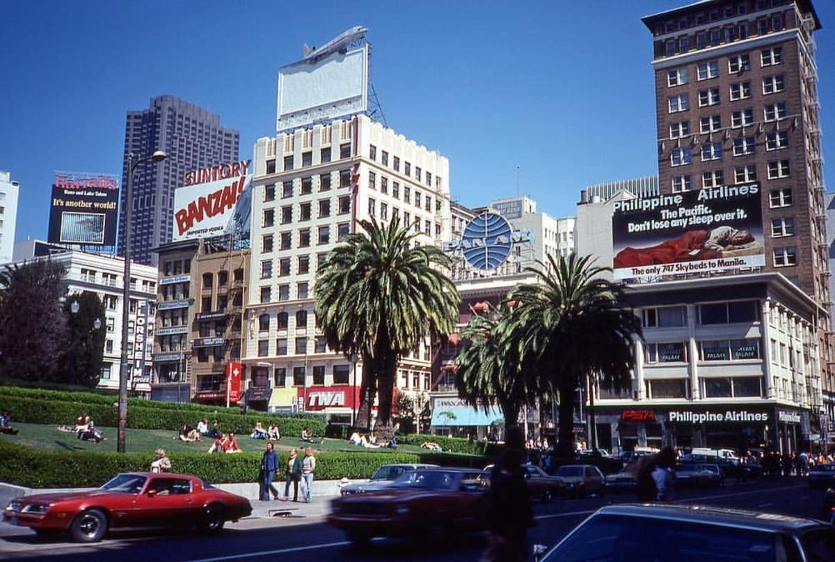 Union Square, circa 1980s