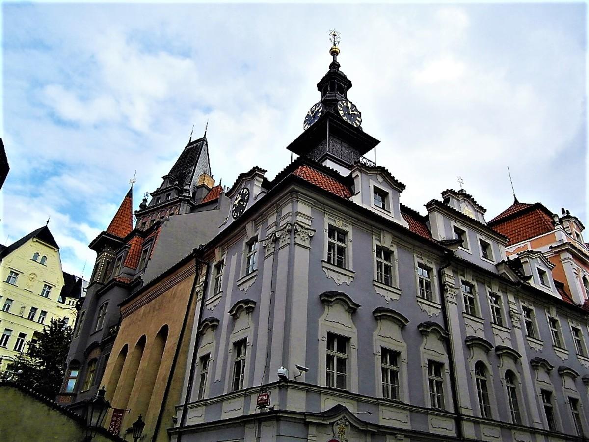 Jewish Town Hall, Prague.