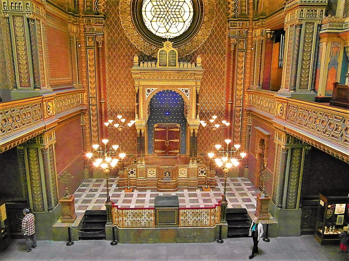 Spanish Synagogue from the balcony.