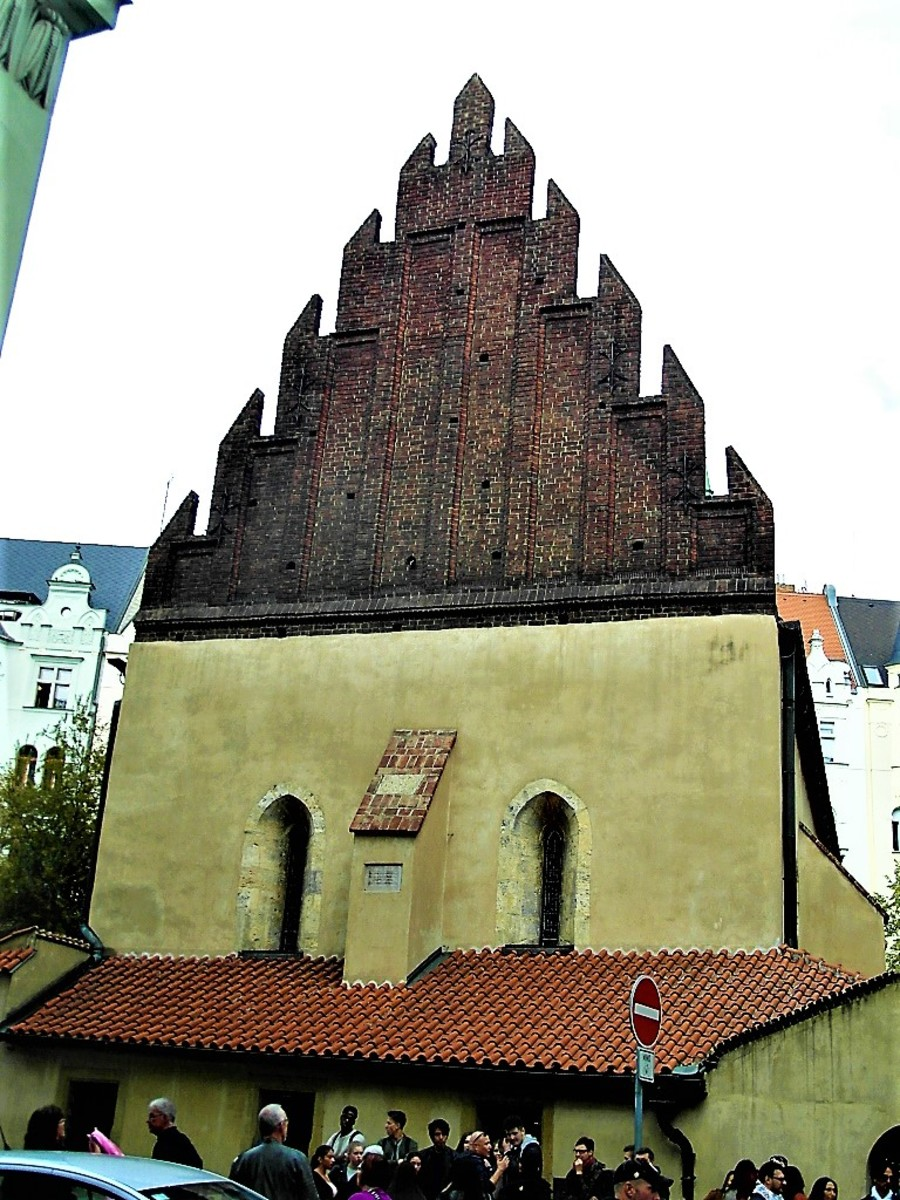 Old-New Synagogue Prague.