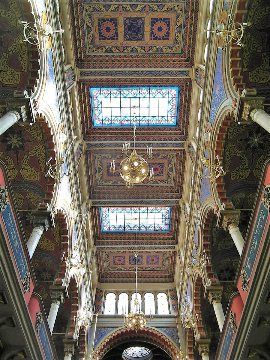 Decorative skylights.