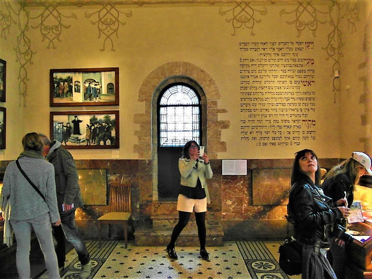 Inside the Ceremonial Hall, Prague.