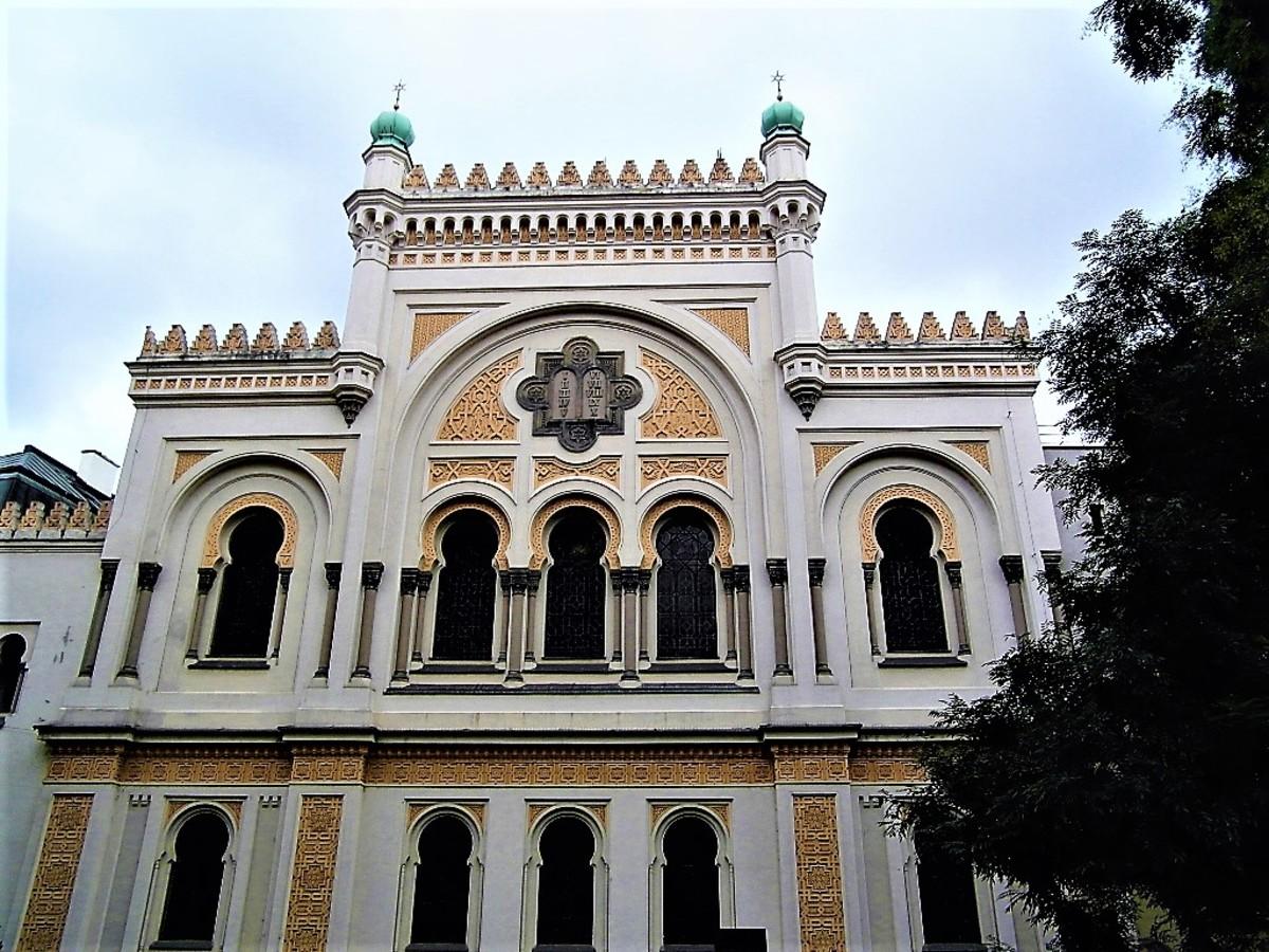 Spanish Synagogue, Prague.