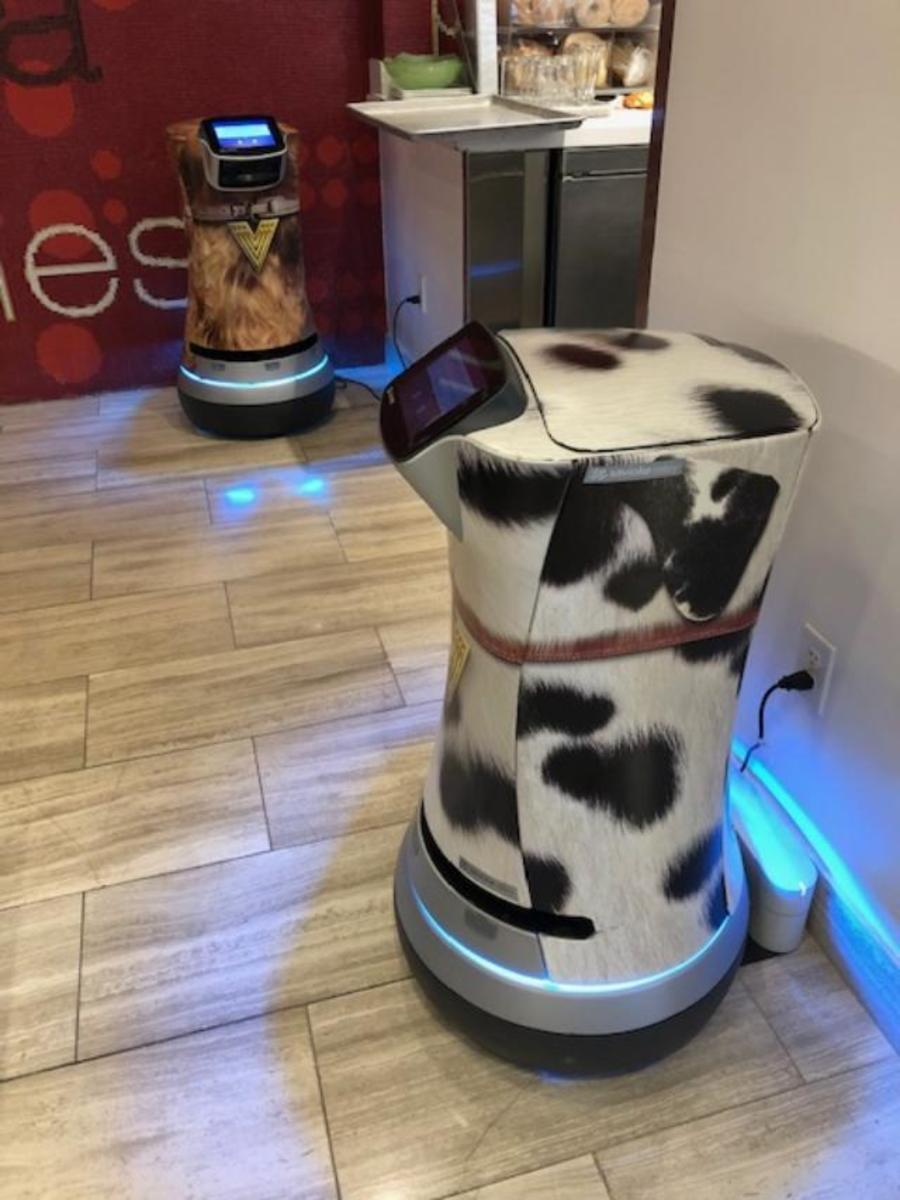 Robot Butlers at the Vdara