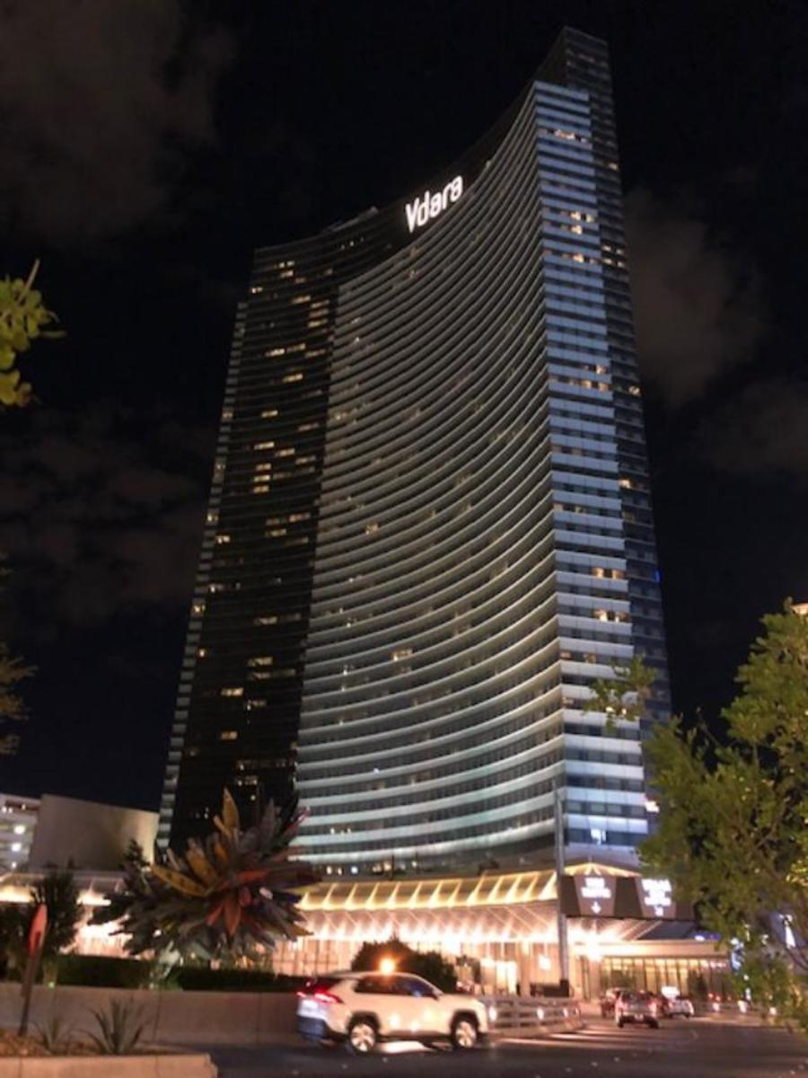 Vdara at Night
